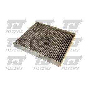 Filter, Innenraumluft Länge: 248mm, Breite: 215,5mm, Höhe: 32mm mit OEM-Nummer 463 830 0018