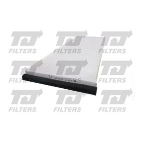 Filter, Innenraumluft Länge: 398mm, Breite: 147,5mm, Höhe: 27mm mit OEM-Nummer 8A0-819-439