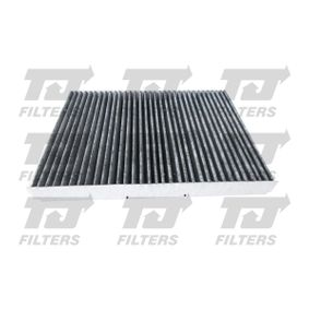 Filter, Innenraumluft Länge: 282mm, Breite: 206,5mm, Höhe: 29mm mit OEM-Nummer 1J0819644A+