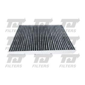 Filter, Innenraumluft Länge: 282mm, Breite: 206,5mm, Höhe: 29mm mit OEM-Nummer 1J0 819 648