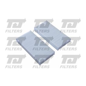 Filter, interior air Length: 225mm, Width: 112mm, Height: 29mm with OEM Number 80292-SCA-E11