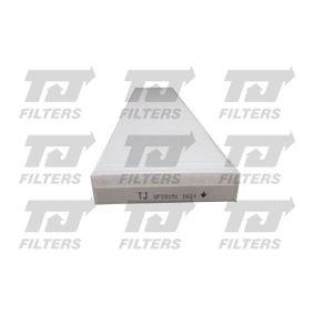 Filter, Innenraumluft Länge: 535mm, Breite: 109,5mm, Höhe: 25,5mm mit OEM-Nummer 7M0819638 A