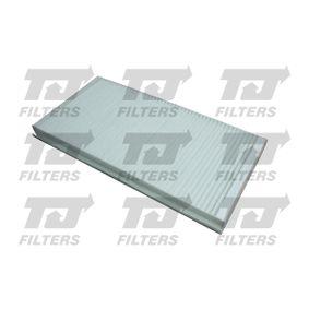 Filter, Innenraumluft Länge: 332mm, Breite: 164mm, Höhe: 30mm mit OEM-Nummer 93172299