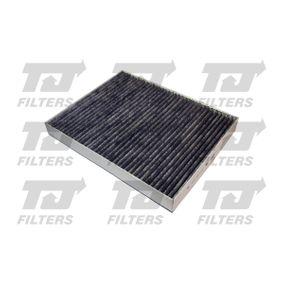 Filter, Innenraumluft Länge: 278mm, Breite: 217mm, Höhe: 34mm mit OEM-Nummer 7H0819631A+