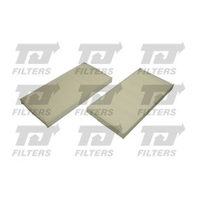Filter, Innenraumluft Länge: 217mm, Breite: 107mm, Höhe: 17mm mit OEM-Nummer 97133-2E260 AT