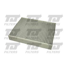 Filter, Innenraumluft Länge: 239mm, Breite: 190mm, Höhe: 34mm mit OEM-Nummer 1353 269
