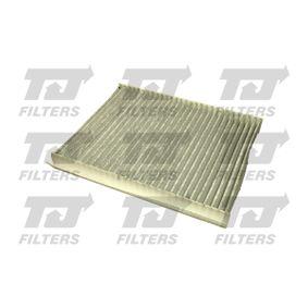 Filter, Innenraumluft Länge: 254mm, Breite: 249,5mm, Höhe: 30,5mm mit OEM-Nummer 6447.LN