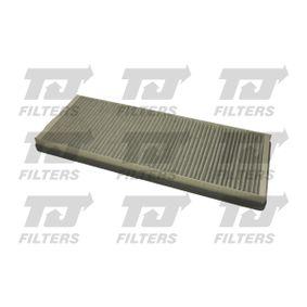Filter, Innenraumluft Länge: 387mm, Breite: 151,5mm, Höhe: 26mm mit OEM-Nummer 8A0 819 439