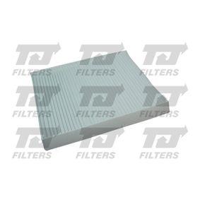 Filter, Innenraumluft Länge: 254mm, Breite: 200mm, Höhe: 30mm mit OEM-Nummer 6447 FF