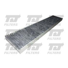 Filter, Innenraumluft Länge: 536mm, Breite: 110mm, Höhe: 25mm mit OEM-Nummer 95VW 19N551 AA