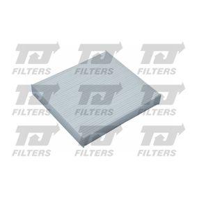 Filter, Innenraumluft Länge: 216mm, Breite: 215mm, Höhe: 18mm mit OEM-Nummer 88568-02020