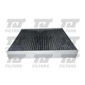 Filter, Innenraumluft Länge: 240mm, Breite: 204mm, Höhe: 35mm mit OEM-Nummer 52420930