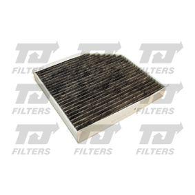 Filter, Innenraumluft Länge: 256mm, Breite: 253mm, Höhe: 35mm mit OEM-Nummer 4H0819439