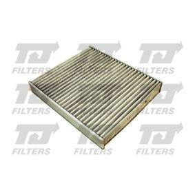 Filter, Innenraumluft Länge: 257mm, Breite: 224mm, Höhe: 34mm mit OEM-Nummer 6R0819653