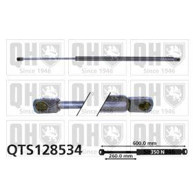 Heckklappendämpfer / Gasfeder Länge: 600mm, Hub: 260mm, Länge: 600mm mit OEM-Nummer 1C0 827 550F