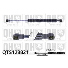 Heckklappendämpfer / Gasfeder Länge: 215mm, Hub: 65mm, Länge: 215mm mit OEM-Nummer 5124 8 410 755