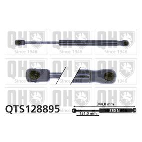 Gas Spring, boot- / cargo area Length: 344mm, Stroke: 131mm, Length: 344mm with OEM Number 8200 119 497
