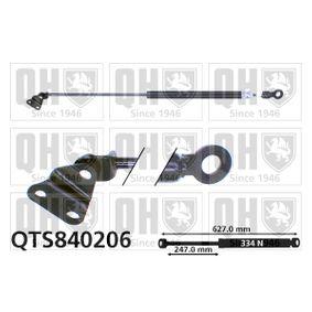 Muelle neumático, maletero / compartimento de carga QTS840206 CIVIC 6 Hatchback (EJ, EK) 1.4LPG ac 1996