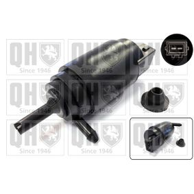 Water Pump, window cleaning Voltage: 12V, Number of Poles: 2-pin connector with OEM Number 6434C9