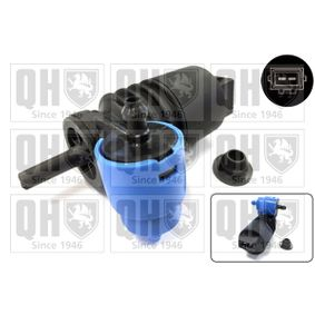 Water Pump, window cleaning Voltage: 12V, Number of Poles: 2-pin connector with OEM Number 1450 185