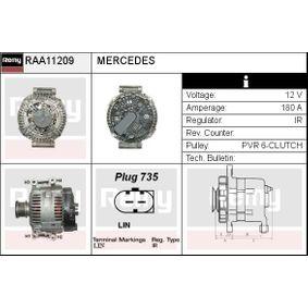 Generator Rippenanzahl: 6 mit OEM-Nummer A 6461541102