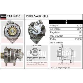 Lichtmaschine Rippenanzahl: 6 mit OEM-Nummer LR170-509