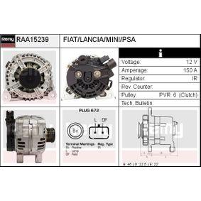 Generator Rippenanzahl: 6 mit OEM-Nummer 5702E2