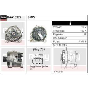 Lichtmaschine Rippenanzahl: 6 mit OEM-Nummer 1231 7789 980