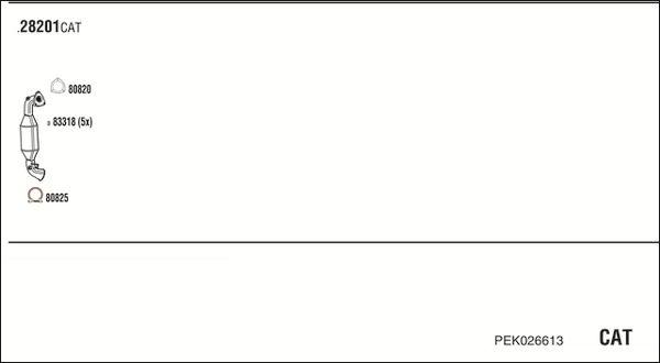 Abgasanlage WALKER RE61803 Bewertung