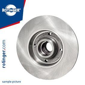 Bremsscheibe Bremsscheibendicke: 10mm, Ø: 245mm mit OEM-Nummer 8D0 615 301B