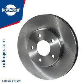 Bremsscheibe Bremsscheibendicke: 25mm, Lochanzahl: 5, Ø: 288mm mit OEM-Nummer 1JO615301C