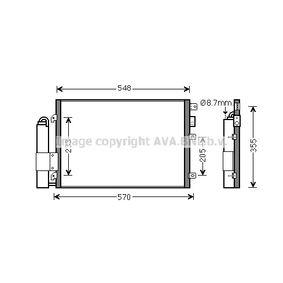 Kondensator, Klimaanlage RTA5275D CLIO 2 (BB0/1/2, CB0/1/2) 1.5 dCi Bj 2002