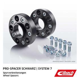EIBACH Pro-Spacer S90-7-25-005-B Spurverbreiterung Gewindemaß: M14x1,5, Lochanzahl: 5, Lochkreis-Ø: 112mm, Spurverbreiterung pro Achse: 50mm