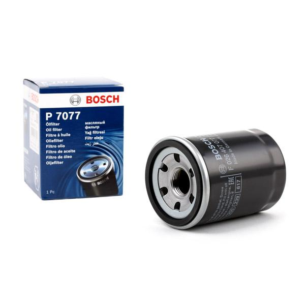 Filtro de Aceite BOSCH F026407077 conocimiento experto