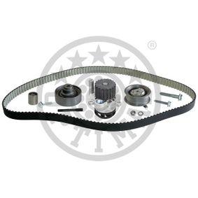 Bomba de água + kit de correia dentada Largura: 26mm com códigos OEM 038 109 119 R