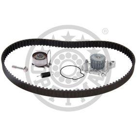 Honda Civic eu7 1.7 (ES1) Wasserpumpe + Zahnriemensatz OPTIMAL SK-1590AQ1 (1.7 Benzin 2005 D17A6)