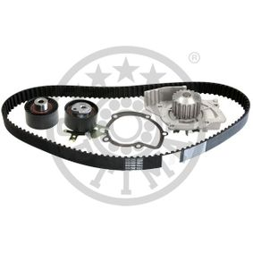 Water pump and timing belt kit Width: 25,4mm with OEM Number 1855732