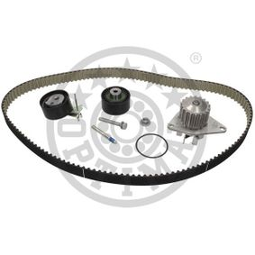Water pump and timing belt kit Width: 25mm with OEM Number 1610.793380