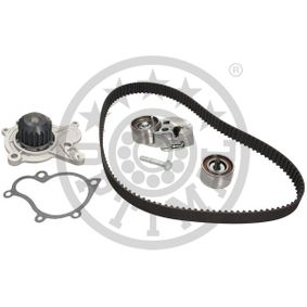 Water pump and timing belt kit Width: 28mm with OEM Number 24312-27-000