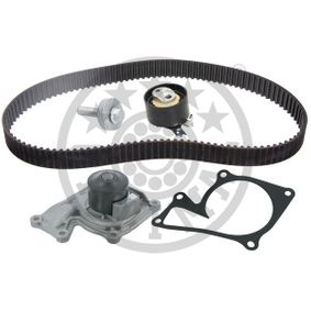 Water pump and timing belt kit Width: 27mm with OEM Number 1680 600 Q2D