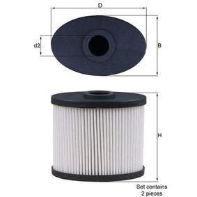 Filtro aria Largh.: 53,0mm, Alt.: 74,0mm con OEM Numero 2992447