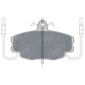 Bremsbelagsatz, Scheibenbremse Breite: 100mm, Höhe: 63,5mm, Dicke/Stärke: 17,9mm mit OEM-Nummer 7701210131