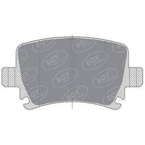 Bremsbelagsatz, Scheibenbremse Höhe: 17mm, Dicke/Stärke: 105,5mm mit OEM-Nummer 4F0698451D