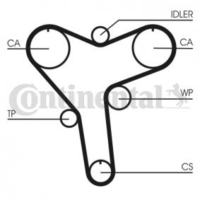 Timing Belt Width: 32mm with OEM Number 13568-29015