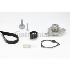 Nissan Almera n16 1.5dCi Wasserpumpe + Zahnriemensatz CONTITECH CT1035WP2 (1.5 dCi Diesel 2006 K9K 722)
