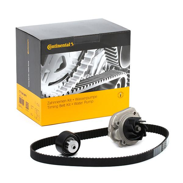 Timing belt kit and water pump CT1049WP1 CONTITECH CT1049 original quality