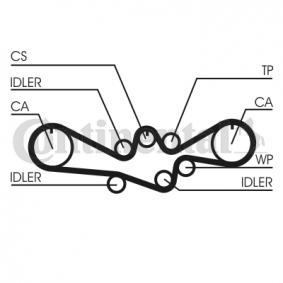 Timing Belt Set Article № CT1050K1 £ 140,00