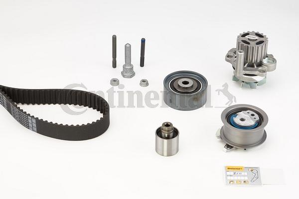 Timing belt and water pump kit CONTITECH CT1051WP2 expert knowledge