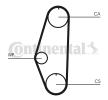 Transmissão de correia / corrente Polo Hatchback (86C, 80): CT629WP1 CONTITECH
