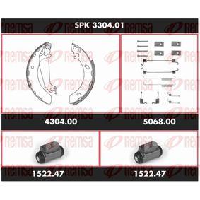 REMSA Super Precision Kit SPK 3304.01 Bremsensatz, Trommelbremse